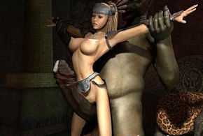 Anomalous monsters lady-love 3d babes!